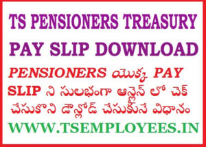 Telangana Pensioners Pension Amount Status Account Slips Current Month Pension Status on online TS Pensioners Pay Slip